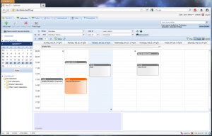 screenshot calendar1 300x192 Free PHP Groupware: How to install and configure Tine 2.0 with ActiveSync for Calendars and Contacts